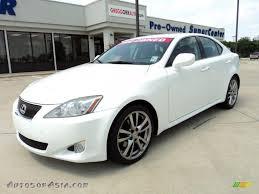 lexus is 250 2008 white.  White Starfire White Pearl  Black Lexus IS 250 To Is 2008 2