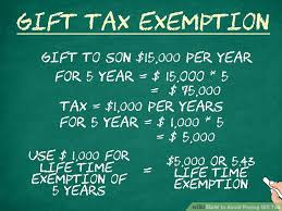 image led avoid paying gift tax step 9