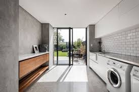 7 Modern Laundry Rooms - Photo 3 of 7 - Australian studio Keen Architecture  designed this