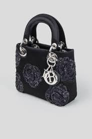 Designer Black Satchel Bags Rent Christian Dior Embellished Mini Satchel Bag In Dubai