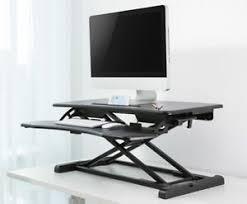 image is loading heightadjustablestandingdeskmonitorrisertabletopsit desk monitor riser e3