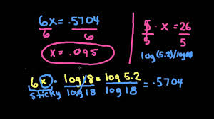 apex math solving exponential equations with logs logarithms natural logs