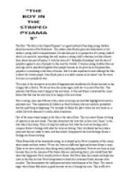analysis of the movie the boy in the striped pyjamas gcse  page 1 zoom in