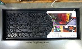 Decorative Boot Tray Decorative Boot Tray Bird Rock Home Rubber Boot Tray Decorative 12