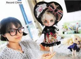 浙江大学学生の人形着せ替え専門のネットショップが大人気中国 2016年6