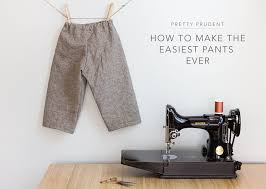 Make Pants How To Make The Easiest Pants Ever Pretty Prudent