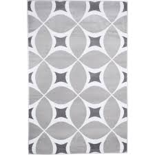 grey and white area rug somerset home geometric area rug grey and white com