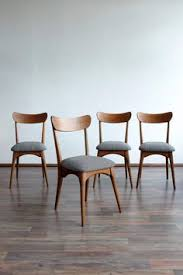 set of 4 danish style dining chairs renové