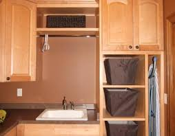 Cabinet : Stunning Laundry Room Cabinets A Laundry Room With White ...