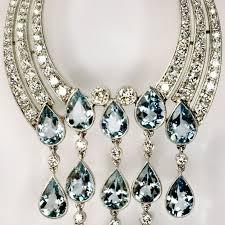 long chandelier earrings long diamond aquamarine chandelier earrings at 1stdibs