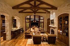 rustic interior cottage design