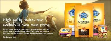 natures recipe puppy natural pet food large breed dog