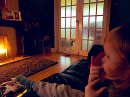 """Letitia Wade on Twitter: """"Enjoying cosy Sunday evening in front of the fire  with the little man in my life Senan… """""""
