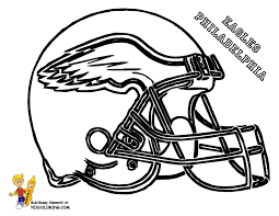 anti skull er football helmet coloring page nfl football