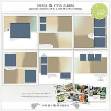 Style Templates Merge In Style Template Album