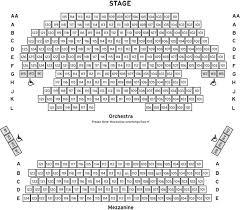 Maltz Jupiter Theatre Seating Chart Calvin Theater Seating Chart Montalban Theater Seating Chart