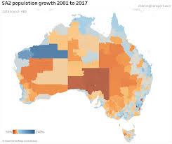 Australian Pop Charts Where Is Population Growth Happening In Australia