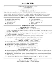 Examples Of Resumes Resume Templates 11 Barback Sample Job
