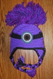 Minion Hat Crochet Pattern Amazing Hand Me Down Hobby Evil Minion Ear Flap Hat