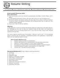 Resume Objective Sample Fresh Objective Resumes Student Objective