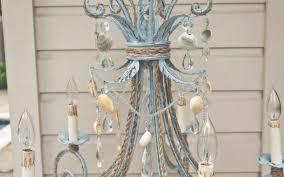 10 gorgeous shabby chic lighting ideas the shabby chic guru intended for shabby chic chandelier