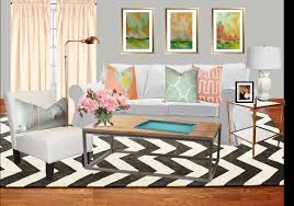 interesting accessories for home interior decoration with grey chevron rug cozy image of living room