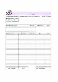 Easy Monthly Budget Template Easy Monthly Budget Template