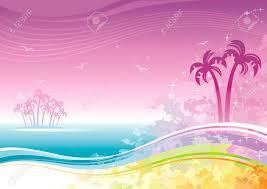 Stock Photo2019 夏 ハワイビーチ夏