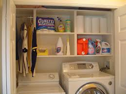 Laundry Closet Ideas Stackable Organization Pinterest Organizers. Laundry  Room Closet Shelving Design Ideas Stcked ...