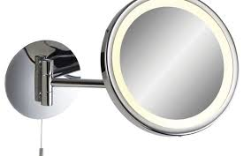 bathroom magnifying mirror with light digihome