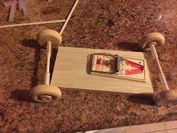 mousetrap car project physics first design