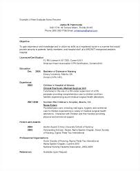 Nursing Resume Templates Free Registered Nurse Resume Template Free Free Resume Template Nursing ...