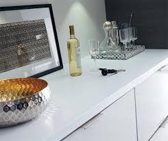 white laminate kitchen countertops. Close Up Of White High Gloss Laminate Kitchen Cabinets Countertops O