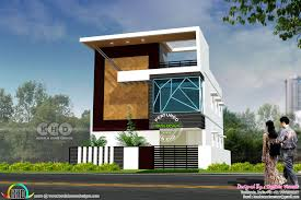 Tamilnadu House Elevation Designs 3250 Sq Ft 4 Bhk Tamilnadu House Plan House Front Wall