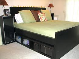 king storage bed plans. King Size Platform Storage Bed Headboard Frame Plans With And Bookcase . D