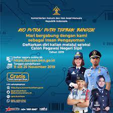 Belakangan pihak kemenkumham mengambil keputusan untuk menunda waktu pendaftaran cpns. Pendaftaran Cpns Kemenkumham 2020 Informasi Cpns Asn Indonesiainfo Cpns Asn Indonesia 2021