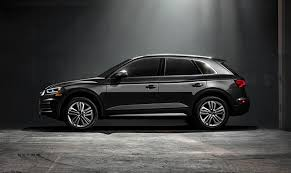 2018 audi q5 black. simple 2018 2018audiq5exteriorblackprofile throughout 2018 audi q5 black