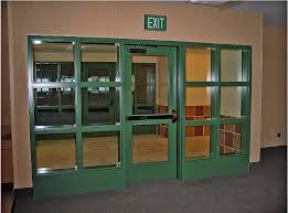exit enclosure