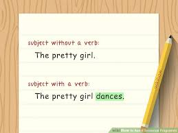 Sentence Fragments How To Avoid Sentence Fragments 10 Steps With Pictures