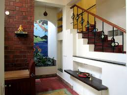 Kaluve Residence Contemporary South Indian Traditional House - Indian house interior