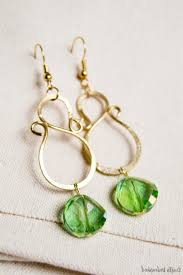 easy cute to make earrings diy easy chandelier earrings my girlish whims with how to