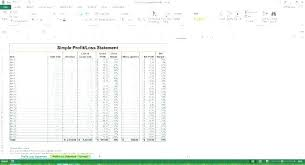 Free Profit And Loss Template Excel Elegant Projected Profit And Loss Template Sick Note Free Awesome