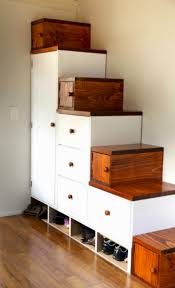 How To Design Storage Stairs For Your Tiny House