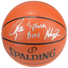 Autographed Golden State Warriors Stephen Curry, Klay Thompson ...