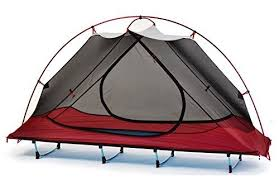 FUNS Off Ground 1Person 4 Season Backpacking Tent Cot Camp Bed ...