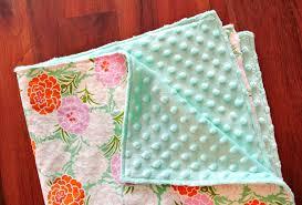 1 minky baby blanket