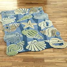 beach themed bath rugs with theme inspirations area round ocean medium size of kitche