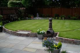 Small Picture curved s shaped path between two circular lawns enhances the sense
