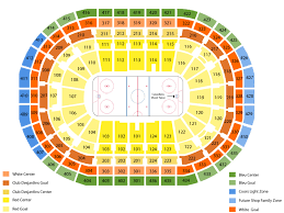 Detailed Seating Chart Bell Centre Montreal Detroit Red Wings At Montreal Canadiens Tickets Bell