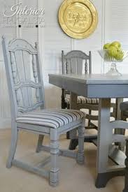 painted dining room set driftwood gray jacobean dining chair